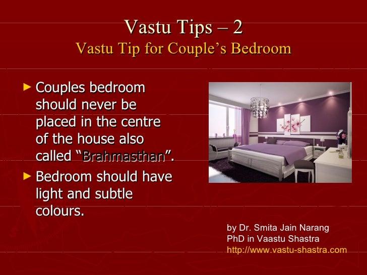 Vastu Tips 2 Couples Bedroom
