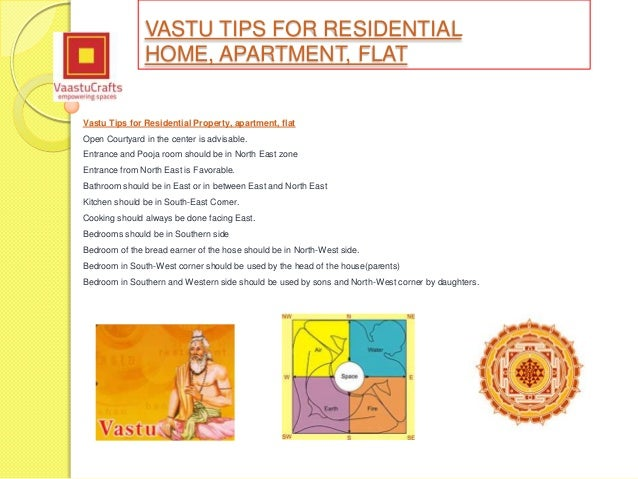 Vastu shastra tips for residential property flat apartment for Apartment plans according to vastu