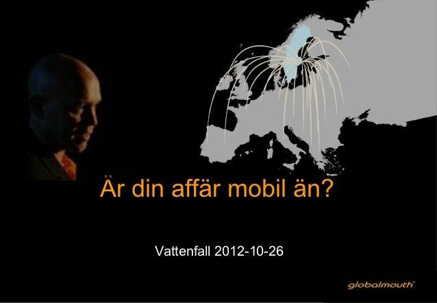 Vattenfall 20121026