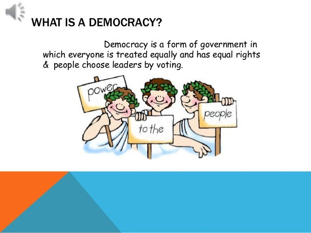 difference b w democracy and monarchy