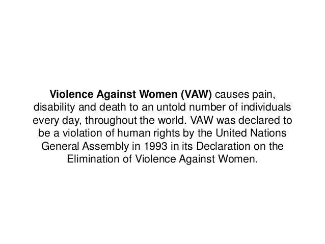 argumentative essay on violence against women