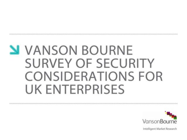 Vanson Bourne Webcast: IT Security