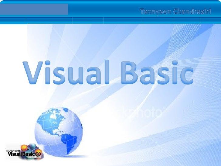 Vb6.0 Introduction