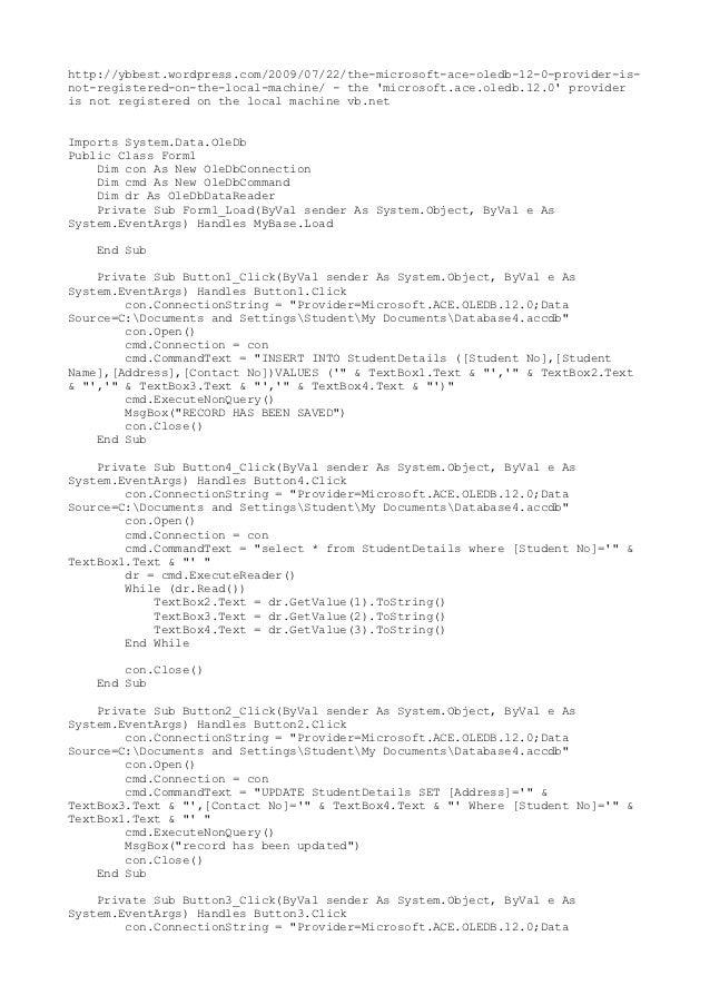 Lifurvahealth32s soup modul vb database combobox fandeluxe Images