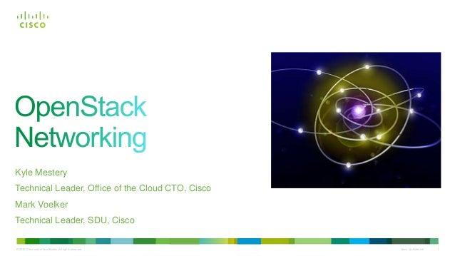vBrownBag OpenStack Networking Talk