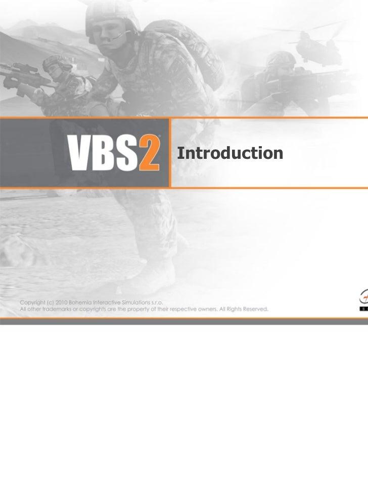 VBS2 Introduction & v1.5 Details