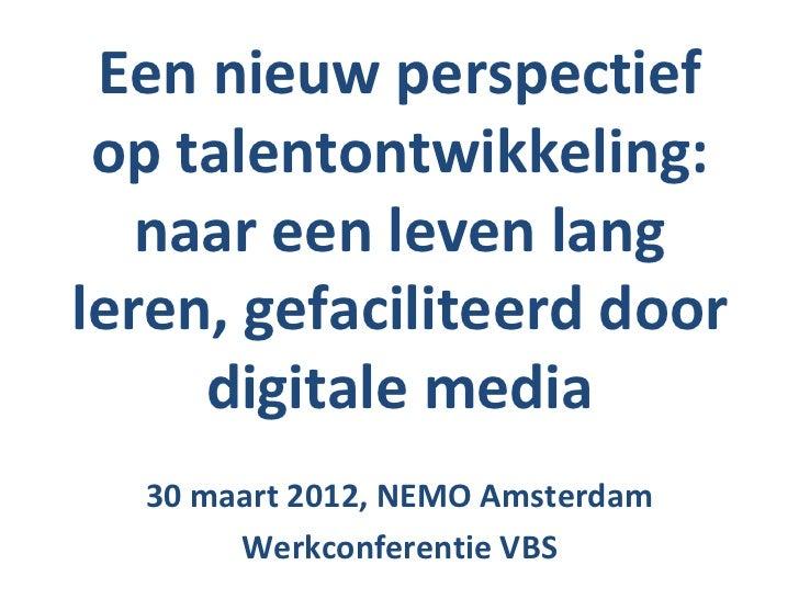 Presentatie werkconferentie VBS
