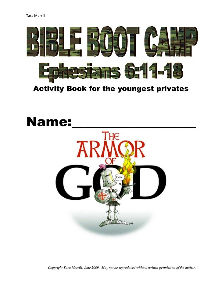 Vbs activity book-for-the-youngest-privates-revised