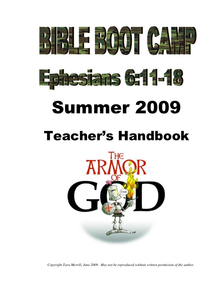 Summer 2009Teacher's HandbookCopyright Tara Merrill, June 2009. May not be reproduced without written permission of the au...