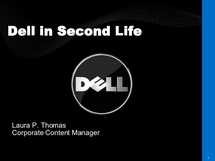 Dell in Second Life