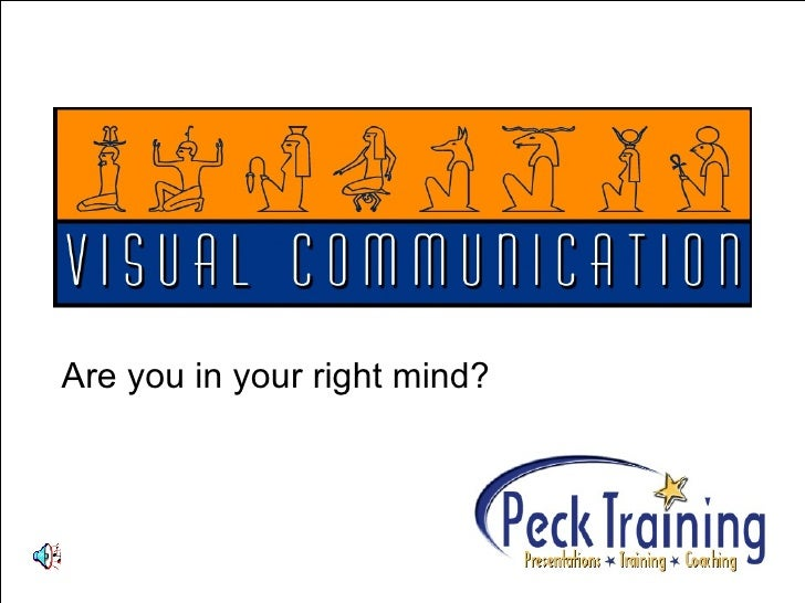 Visual Communication Presentation ASTD 0807