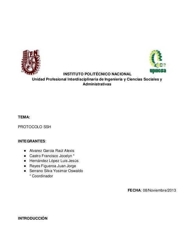 INSTITUTO POLITÉCNICO NACIONAL Unidad Profesional Interdisciplinaria de Ingeniería y Ciencias Sociales y Administrativas  ...