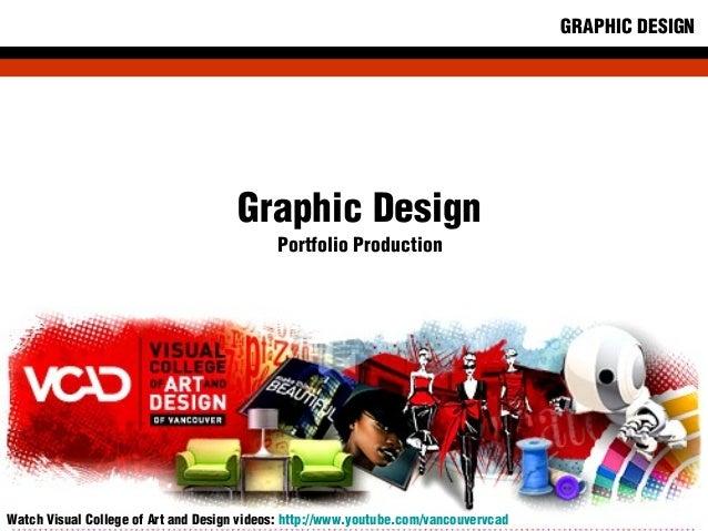 VCAD Graphic Design Program Student Portfolio 2012