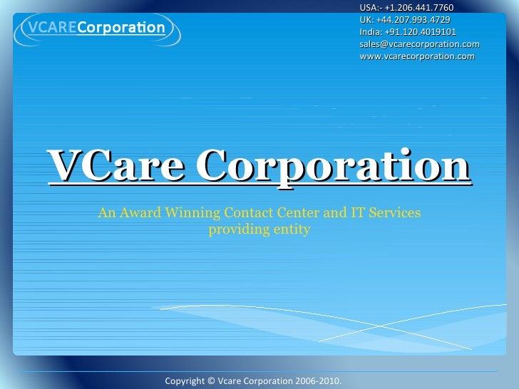 V care corporation