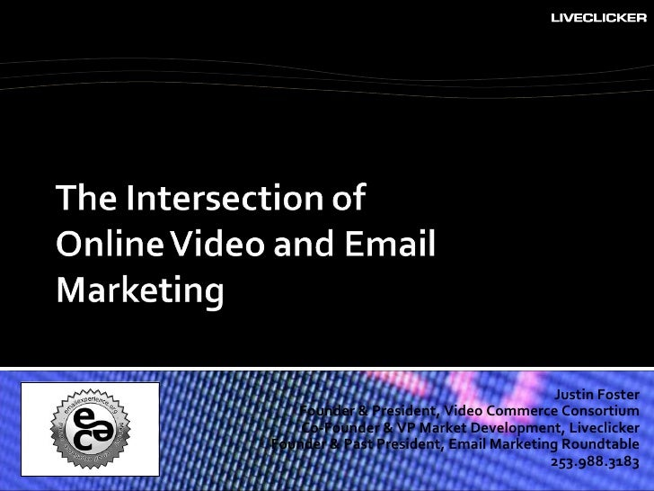 Video commerce: the intersection of online video and email marketing