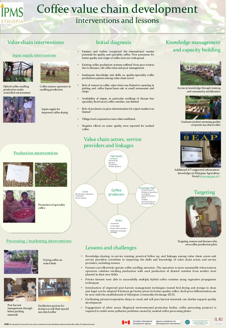 Coffee value chain development: Interventions and lessons