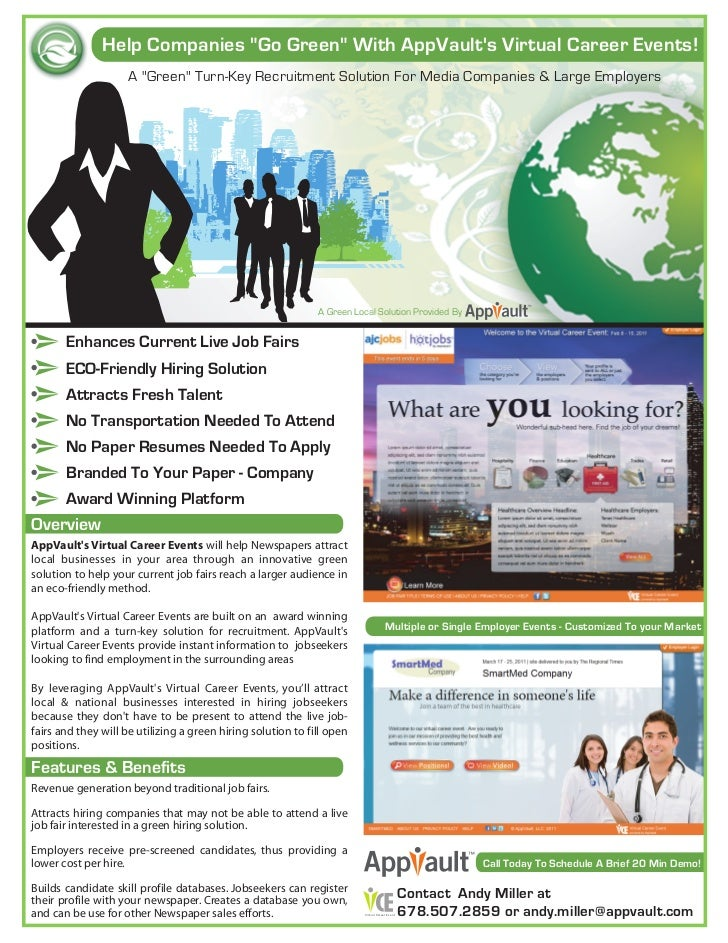 AppVault Green VCE One Sheet