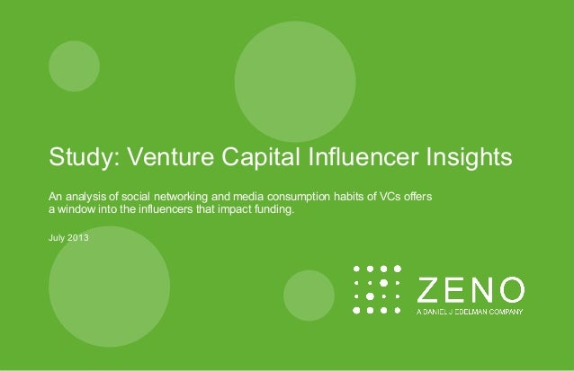 Study: Venture Capital Influencer Insights An analysis of social networking and media consumption habits of VCs offers a w...
