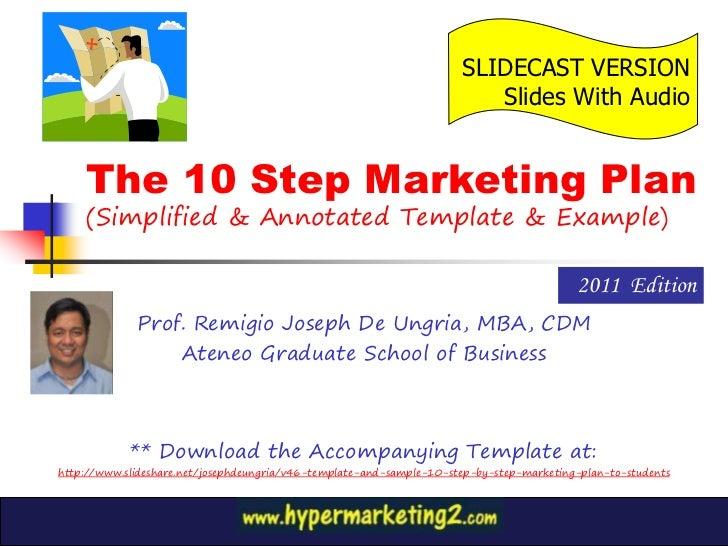 Vcoach slidecast 10 step marketing plan 2011 edition