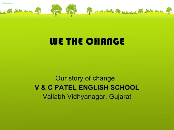 V & c patel school, vallabh vidhyanagar, gujarat
