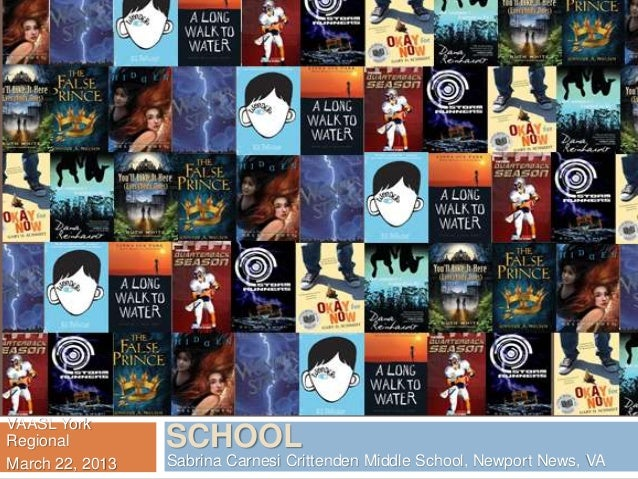 2013 Virginia Reader's Choice Titles for Middle School