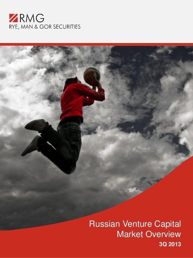Russian Venture Capital Market Overview 3Q2013