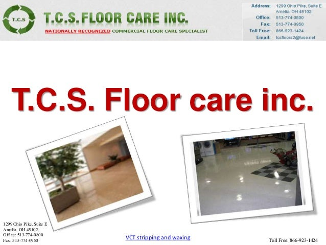 VCT Floor Polishing And Waxing For Best Results