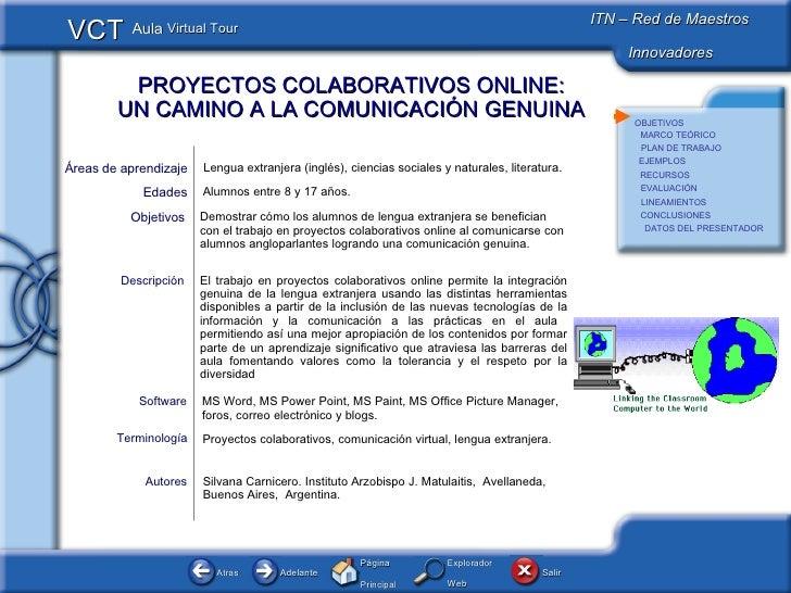 Vct Proyectos Colaborativos online Argentina