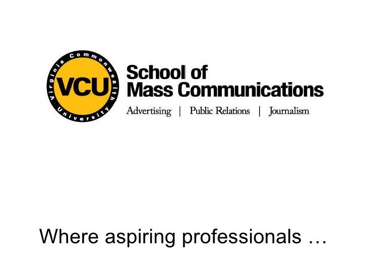 Where aspiring professionals …