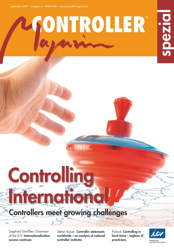 September 2009 | Ausgabe 6 | 01450-5900 | www.controllermagazin.de                                                        ...
