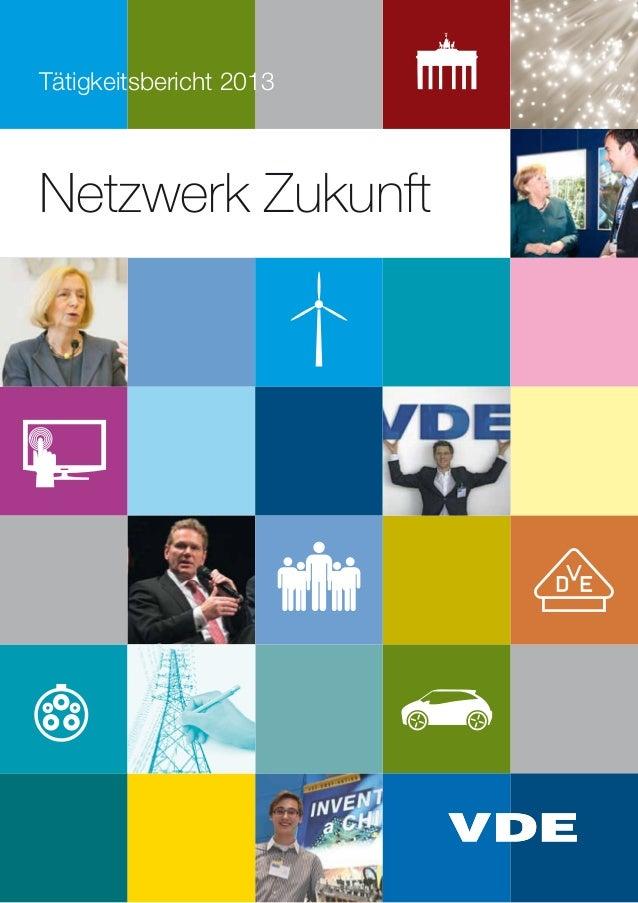 Netzwerk Zukunft Tätigkeitsbericht 2013