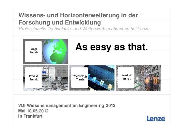 Wissens- und Horizonterweiterung in derForschung und EntwicklungF    h       d E t i klProfessionelle Technologie- und Wet...