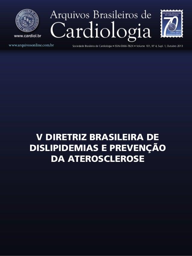 www.arquivosonline.com.br  Sociedade Brasileira de Cardiologia • ISSN-0066-782X • Volume 101, Nº 4, Supl. 1, Outubro 2013 ...