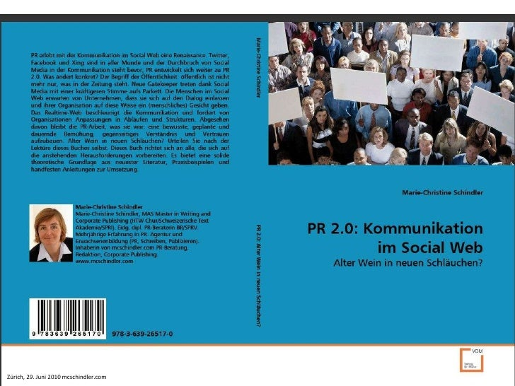 PR 2.0: Kommunikation im Social Web