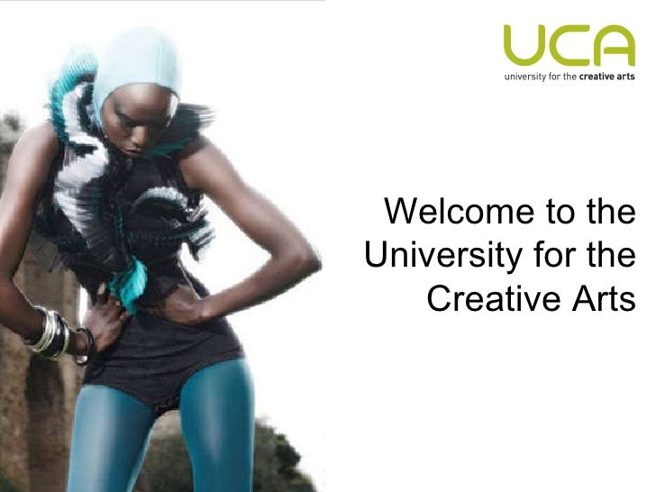 Welcome to the University for the Creative Arts