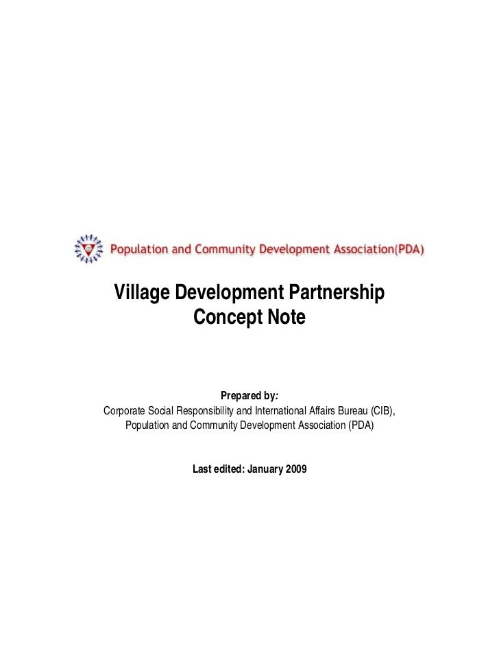 VDP Concept Note
