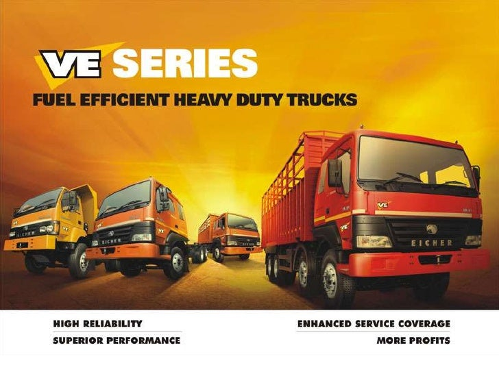 "What is VE Series?""VE Series"" is a new range of value enhanced, fuel efficient Eicher Heavy Duty Trucks presented byVE Com..."