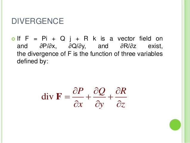 gradient divergence and curl pdf