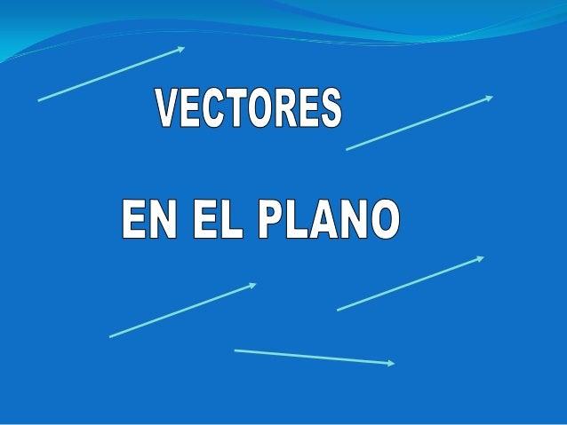 Vectores Elementos Vectores referidos al origen de coordenadas Adición y sustracción de vectores Producto de un escalar po...