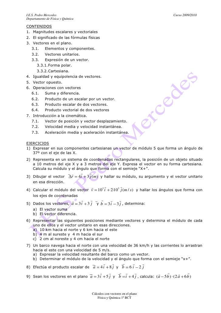 I.E.S. Pedro Mercedes                                                                       Curso 2009/2010 Departamento d...