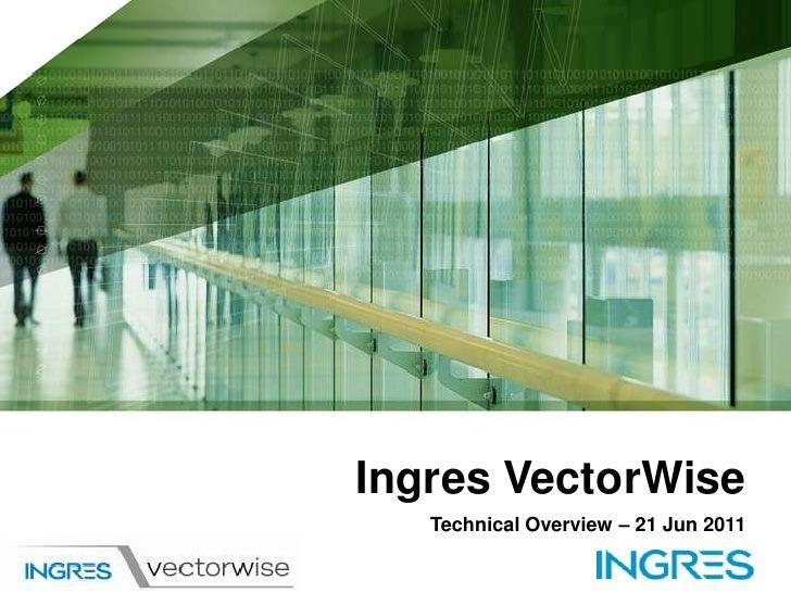 Vector wise presen