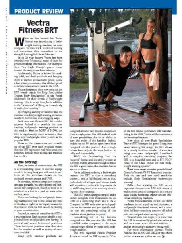 Vectra BRT Body Weight Strength Training