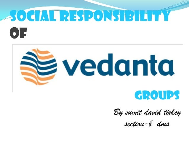 Social responsibility of By sumit david tirkey section-b dms groups