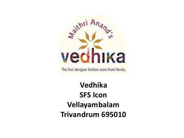 Vedhika fashion Store Trivandrum