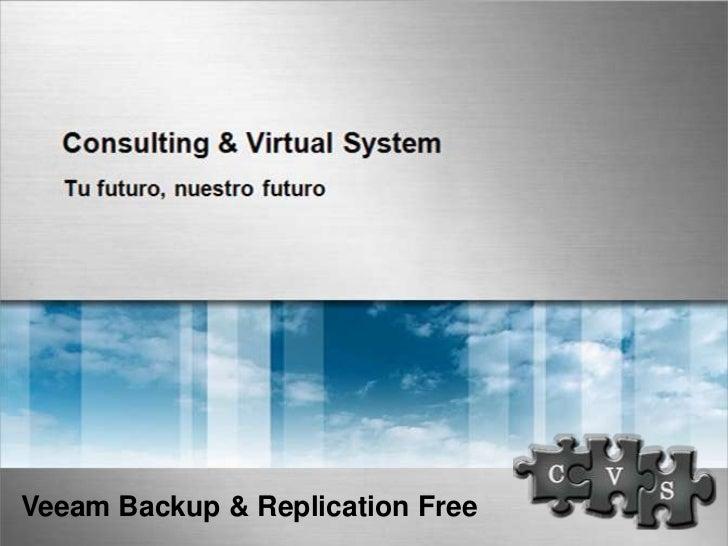 Veeam Backup & Replication Free