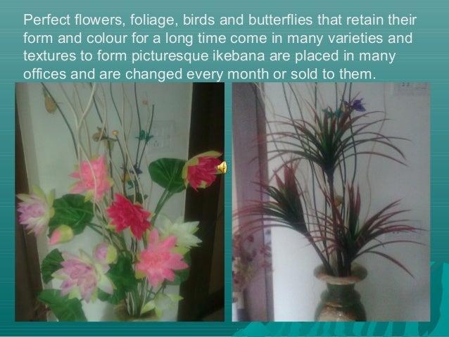 Veena artificial plants in interior design for Artificial plants for interior decoration