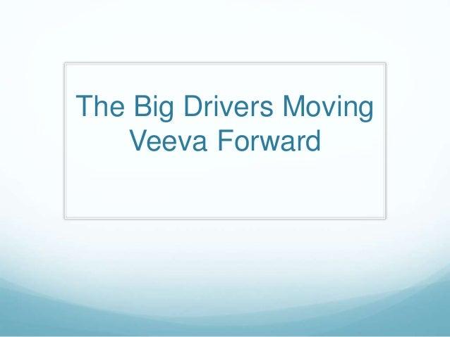 The Big Drivers Moving Veeva Forward