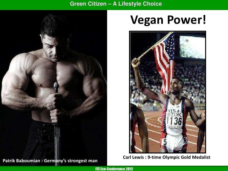 Vegan Power Carl Lewis