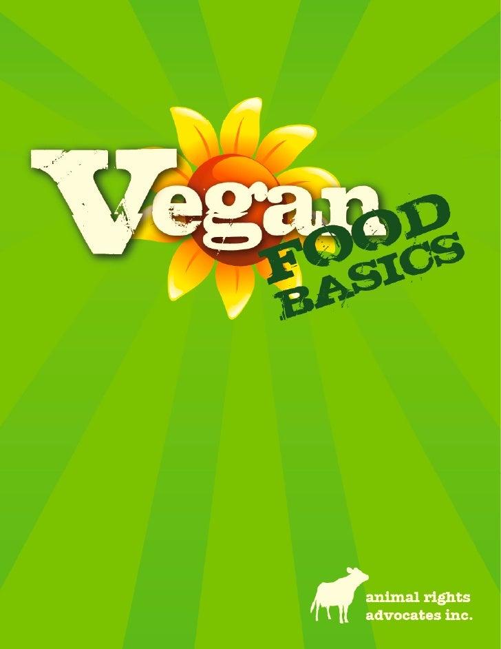 Vegan Food Basics Booklet