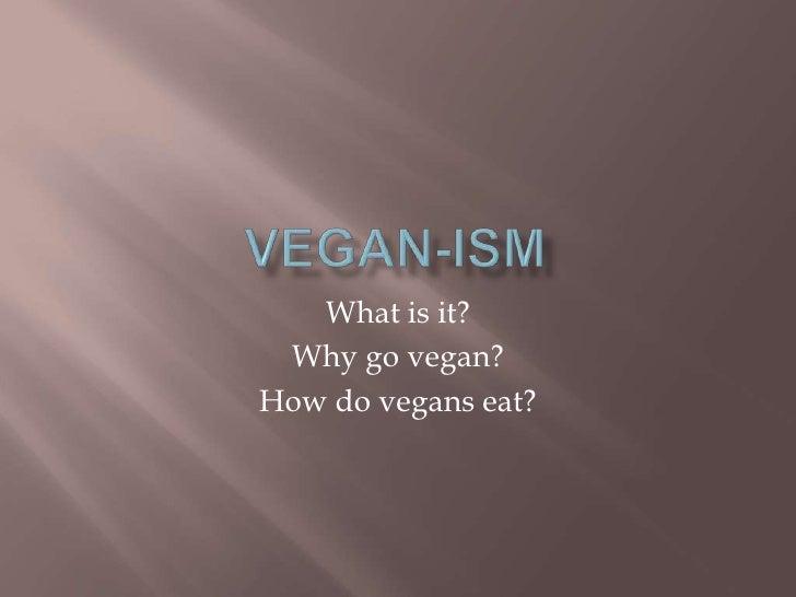 Vegan Presentation, Dr. Aumatma and Dr. Jina Shah